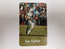 Yale University Bulldogs 1979 College Football Pocket Schedule - Walter Camp
