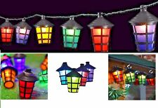 10 LED Multi Indoor Outdoor Christmas Decoration Lantern Lights Tree Party Xmas