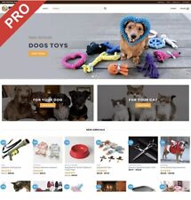 PET PRODUCTS Dropshipping Website Business | FREE MARKETING DOMAIN HOSTING