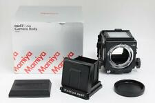 Mint in Box Mamiya RB67 Pro SD Medium Format Camera w/ Box Caps From Japan 0776