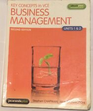 Key Concepts in VCE Business Management - Units 3 and 4 by Anthony Arthurson,...