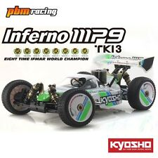 Kyosho Inferno MP9 TKI3 Readyset 1/8 RC Nitro 4wd 2.4Ghz RTR Buggy 31889T1