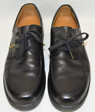 Camel Active Derby Shoes Black Leather Lace Up Walking Casual Mens US 9 - EU 42