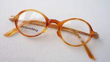 Fashion Oldschoolbrille Hornoptik Antiklook Klassiker Occhiali oval Size s