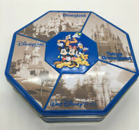 Rare Disney Parks Tin Collectible Disneyland Disney World Paris And Tokyo