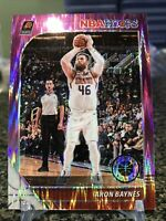 2019-20 Hoops Premium Stock #128 Aron Baynes Rare Purple Flash Prizm SSP /35!!!