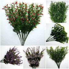 12 x Exotisch Grasstiel Graszweig Gras Zweig Kunstblume Seidenblume Asparagus