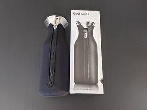 Brand New Eva Solo Fridge Carafe With Black Neoprene Insulating Cover 1.0L