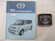 2004 TOYOTA SCION XB ELECTRICAL WIRING DIAGRAM SERVICE MANUAL