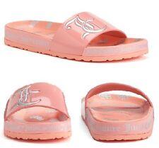 Juicy Couture Women's Slide Sandals, Color Peach, Size US 7/ UK 5/ Euro 37-38