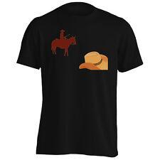 New Cowboy Hat Flat Design Men's T-Shirt/Tank Top h639m
