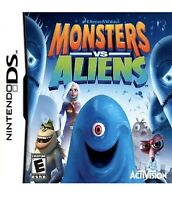 Monsters vs. Aliens Nintendo DS/3DS Kids Game
