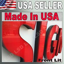 """36"""" LED FrontLit Channel Letters Store signs, Factory Direct to You. Store Sign"""