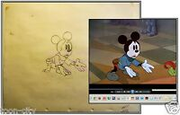 Disney Vintage Original Production Mickey Drawing c1938 Brave Little Tailor
