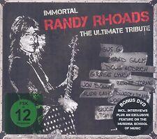 Immortal Randy Rhoads - The Ultimate Tribute DIGIBOOK  CD+DVD Neu