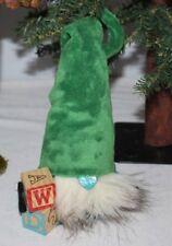 "Nordic Gnome 14"" Handmade Tomte Nisse Plush Elf Scandinavian Nursery Blocks Boy"