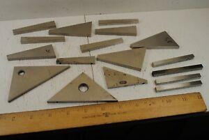 Machinist Angle Blocks 17 Pieces