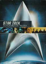 STAR TREK TRILOGY: STAR TREK II, III, IV 3-DVD Set NEW BUT UNSEALED! Region 1