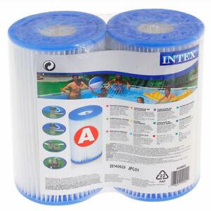 INTEX 29002 SWIMMING POOL TYPE A Replacement Cartridge Pool Filter Pools Pump