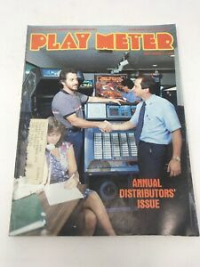 Play Meter Magazine September 1983 Pinball Video Games Annual Distributors Issue