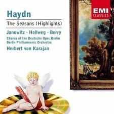 Haydn The Seasons Highlights Janowitz Hollweg Karajan CD.New/Sealed 724357497626