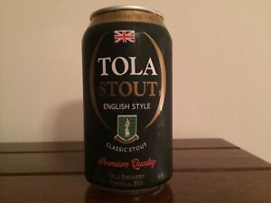 OCOC - empty beer can from Tortola: stout (READ DESCRIPTION)