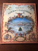 Tasha Tudor's Advent Calendar A Wreath of Days 1988 HC Christmas 1st Impression