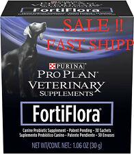 Purina Fortiflora Canine Nutritional Supplement Box, 30 sachets,Sale Fast Shipp