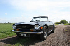 TRIUMPH TR6 GENUINE FUEL INJECTED UK  CAR WITH OVERDRIVE LONG MOT DRIVE AWAY
