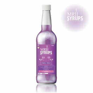 750ml Parma Violet Flavour Drink Syrup - Flavouring for Drinks - Cocktail Syrup