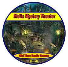 Molle Mystery Theatre - 72 Old Time Radio Broadcasts Mp3 DVD