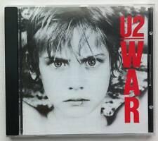 U2 War CD Album 1983 record rock Canadian Print CANADA Island Bloody Sunday