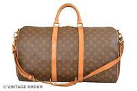 Louis Vuitton Monogram Keepall 50 Bandouliere Travel Bag Strap M41416 - YG00770