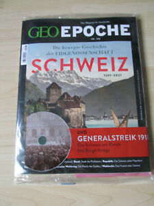 GEO Epoche  Schweiz 1921-2021 Nr. 108 mit DVD - Magazin für Geschichte