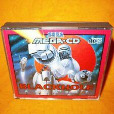 VINTAGE 1993 SEGA MEGA-CD BLACKHOLE ASSAULT GAME PAL & FRENCH SECAM VERSION