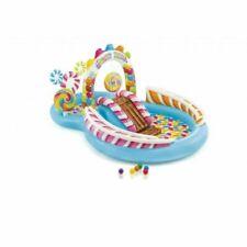 Intex Candy Zone Play Center 206L Piscina Gonfiabile 295x191x130cm - Multicolore (57149NP)