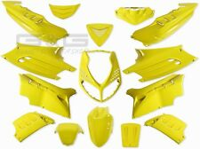 Kit carénage capot 15 parties de carénage en jaune pour Peugeot Speedfight