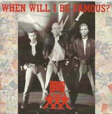 Bros - When Will I Be Famous? / Love To Hate You (Vinyl-Single 1987) !!!