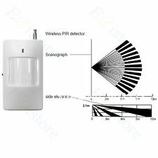 433mHZ Motion Detector Wireless PIR Sensor Home Guard Security Alarm System Part