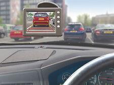 """Sistema de cámara de marcha atrás inalámbrico de reversa para Automóvil con pantalla LCD de 3.5"""" - Kit Completo"""