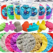 Magic Motion Moving Play Sand Pack 500g -2kg All Colours Building Toy