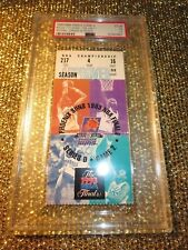 Michael Jordan Chicago Bulls- Phoenix Suns 1993 NBA Finals Gm 2 Ticket Stub PSA
