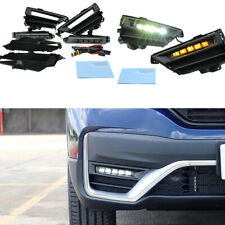 2020-2021 For Honda CR-V CRV Bumper Fog Lights LED DRL Driving Lamps
