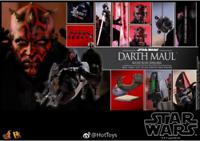 Hot Toys DX17 Star Wars The Phantom Menace Darth Maul & Sith Speeder New