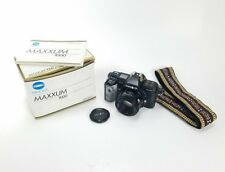 Minolta Maxxum 7000 35mm Film Camera With Minolta AF 50mm F1.7 Original Box
