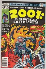 2001: A Space Odyssey #4 Marvel Comics JACK KIRBY 1977 Wheels of Death!