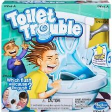 Hasbro's Toilet Trouble Game  Battery Operated Toy For Kids Ages 4 Years and Up