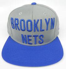 BROOKLYN NETS NBA MITCHELL & NESS 2-TONE LETTER SPECIAL SNAPBACK CAP HAT NEW!
