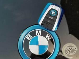 UK SELLER BMW i3 i8 KEY HOLDER RING REMOTE KEY CASE FOB SHELL PROTECTOR REX BEV