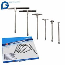 6 Pc Precision Telescoping Gage Set 516 6 Range T Bore Hole Gauges Withpouch